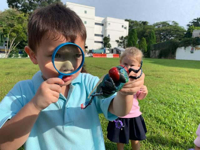 mosaic kindergarten outdoor learning