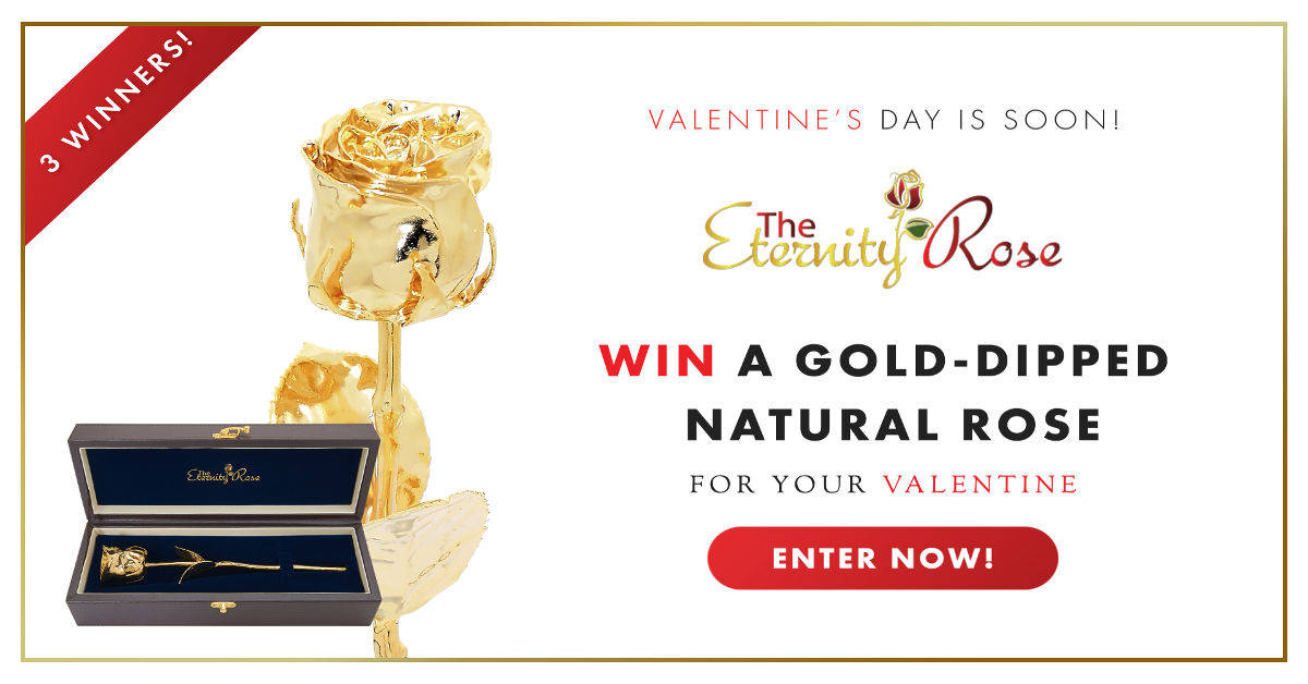 the eternity rose valentines day giveaway FB