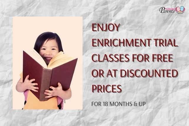 Discounted / Free Trial Class For Preschool, Primary & Secondary School Children