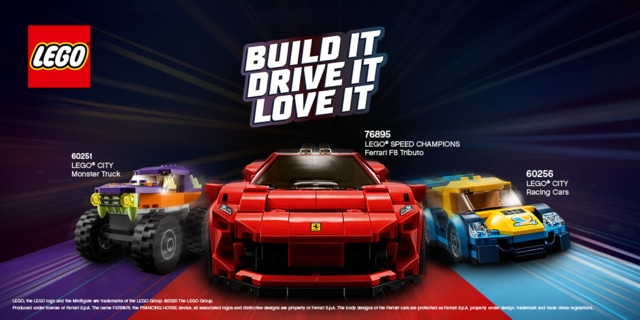 Rev Your Engines for LEGO's #BuildItDriveItLoveIt