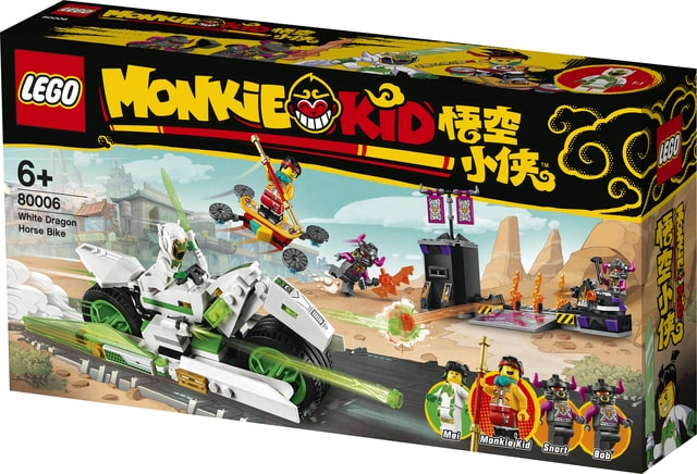 Learn about Journey to the West with Your Child with LEGO® Monkie Kid Collection!