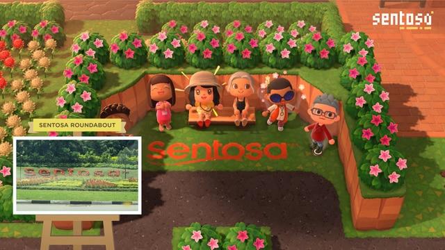 Sentosa Singapore Animal Crossing