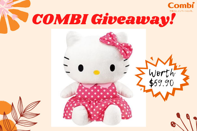 Combi Mother's Day Giveaway: Win a Hello Kitty Toy