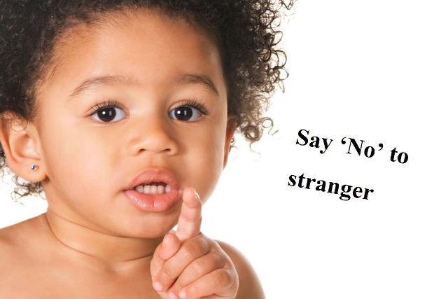 say no to stranger