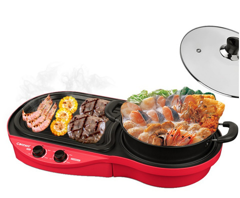 Father's Day Gift Idea Cornell 2-in-1 steamboat and bbq