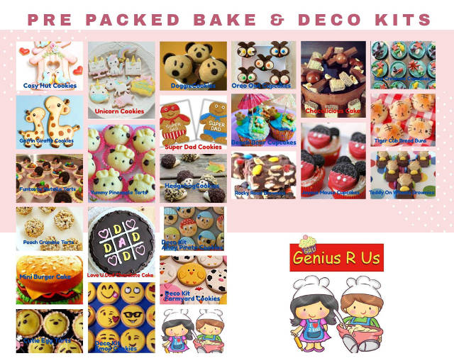 Genius R Us Pre-pack Baking Kits