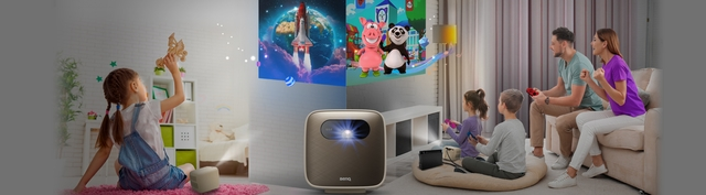 Home entertainment GS2 Projector