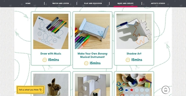 Make and Create Activity Sheets for children