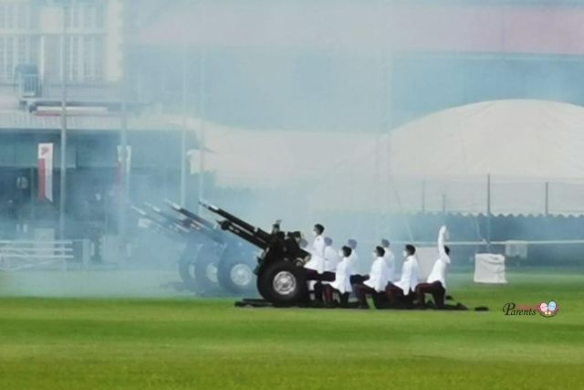 Presidential Gun Salute National Day Padang
