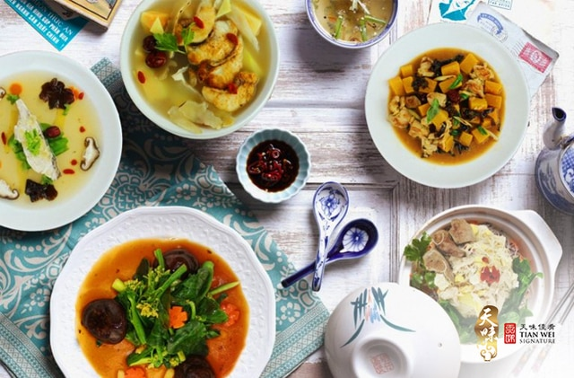 Tian Wei Signature Confinement Food Catering Singapore