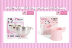 Chefmade Hello Kitty Cookware Giveaway