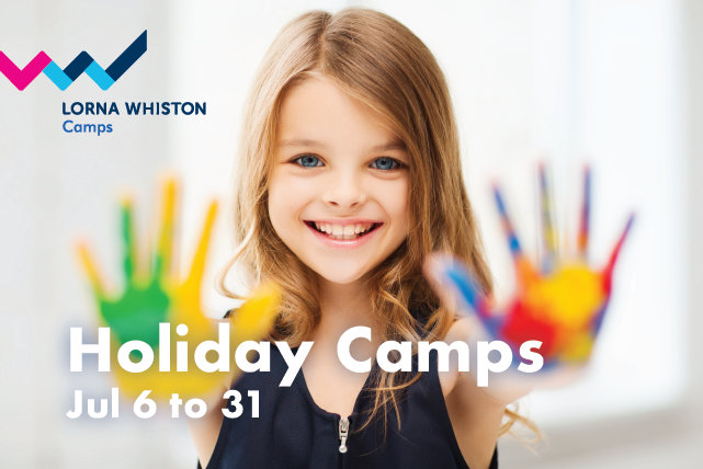 Lorna Whiston July Summer Camps
