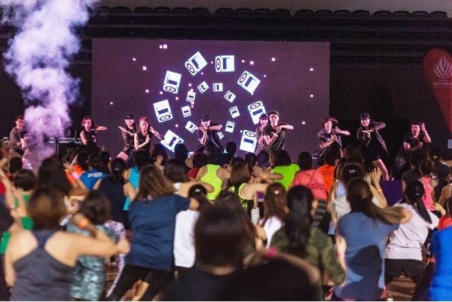 Sports Hub National Day Fiesta high energy K-Pop