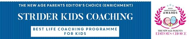 Strider Kids Coaching TNAP Editor's Awards 2020