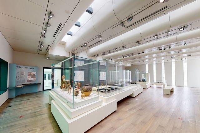 VirtualACM Ceramics gallery Asian Civilisations Museum