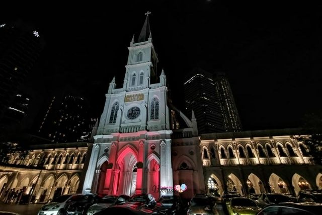 CHIJMES light up National Day