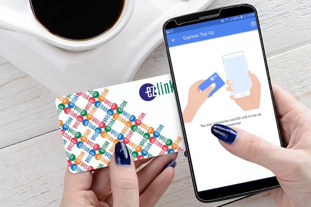 EZ-Link Express Top Up App