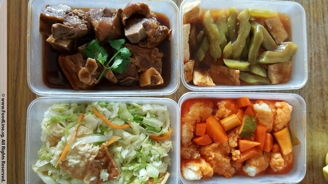 Ronnie Kitchen Tingkat Delivery Service Singapore