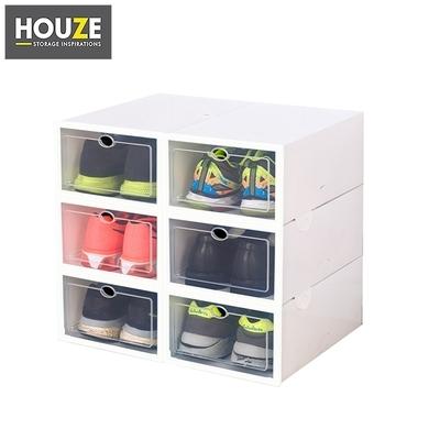 Shopee HOUSE 'EZ' Stackable Drop Lid Shoe Box