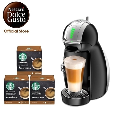Shopee Nestle Dolce Gusto Genio 2 Black Coffee Machine Bundle with 3 boxes Starbucks Capsules
