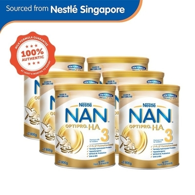 Shopee Nestle NAN Optipro H.A. 3 Growing up Milk