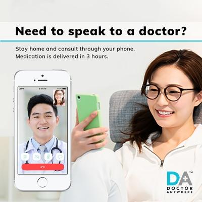Telemedicine Singapore Doctor Anywhere