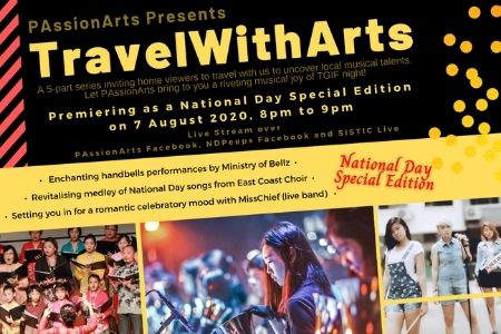 PAssionArts Celebrates National Day With Virtual '#TravelWithArts' Programme