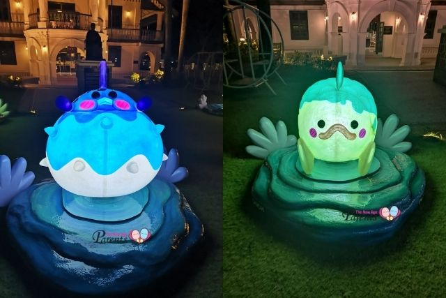 Wan Qing Festival Fish lanterns