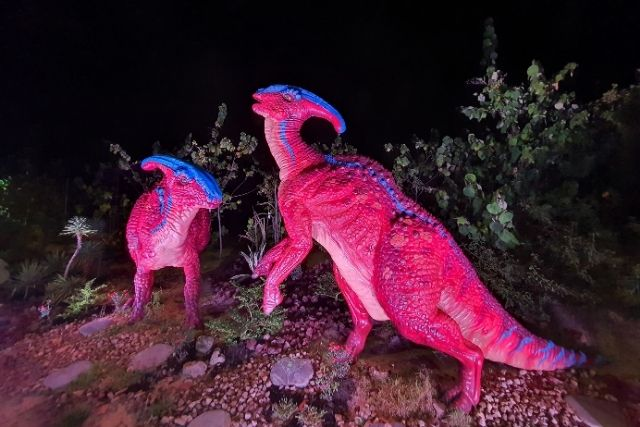 Changi Jurassic Mile Dinosaurs - Parasaurolophus