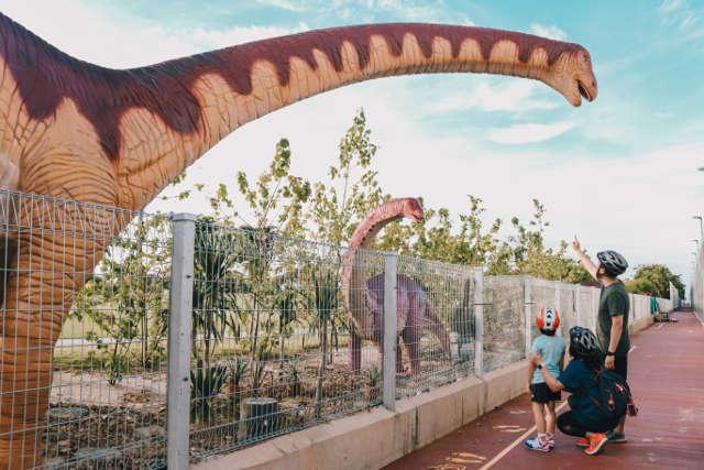 Changi Jurassic Mile Dinosaurs