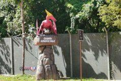 Dinosaurs at Changi Jurassic Mile Park Connector Terminal 4