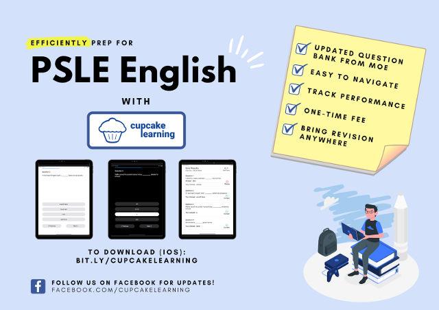 Cupcake Learning PSLE English