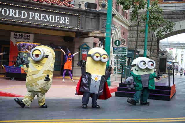Halloween at Universal Studios Singapore
