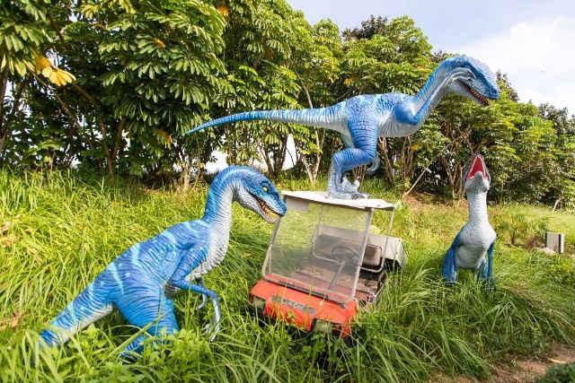 Jurassic Mile Changi Dinosaurs Velociraptor