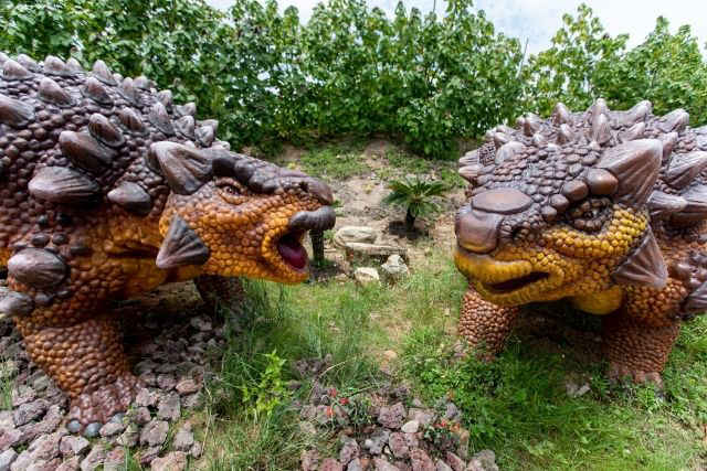 Jurassic Mile Dinosaurs Park Ankylosaurus