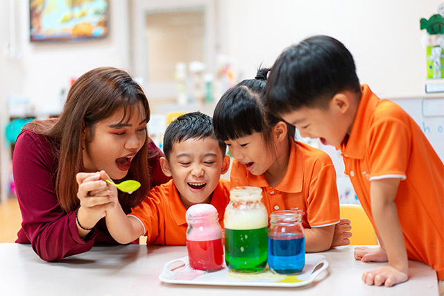 Affordable, High Quality and Holistic Curriculum at NTUC First Campus' My First Skool