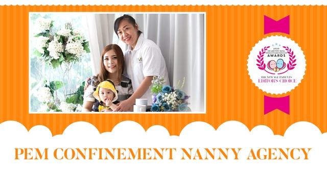 PEM Confinement Nanny Agency TNAP Editors Choice
