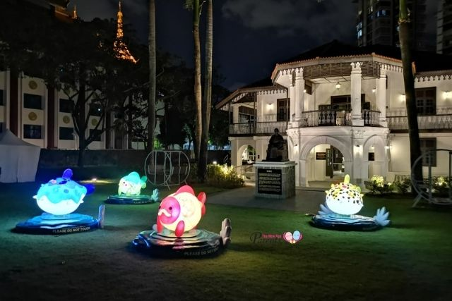 Wan Qing Mid-Autumn Festival 2020 Lantern Installation