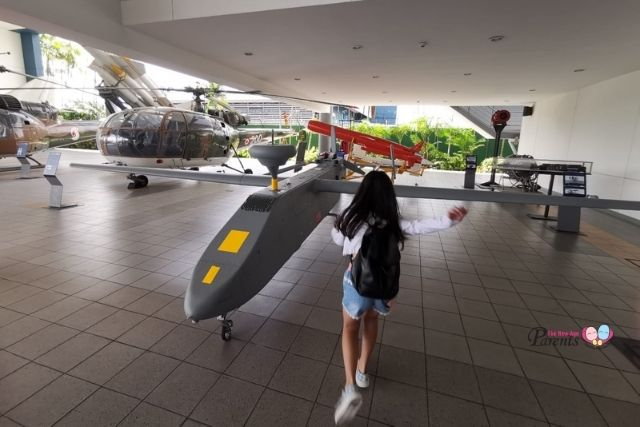 singapore air force museum unmanned aircraft