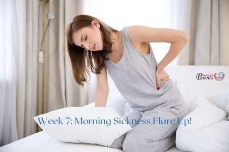 Week 7 Of Pregnancy – Morning Sickness Flare Up