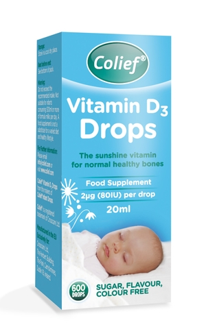 Colief Vitamin D3 Drops Singapore