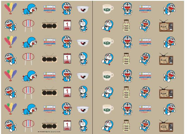 Doraemon Designs Singapore-themed Collection by Supermama