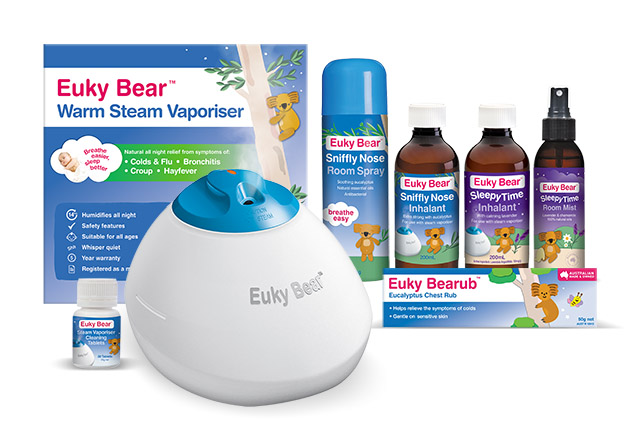 Euky Bear: Natural Cough and Cold Remedies for the Little Ones