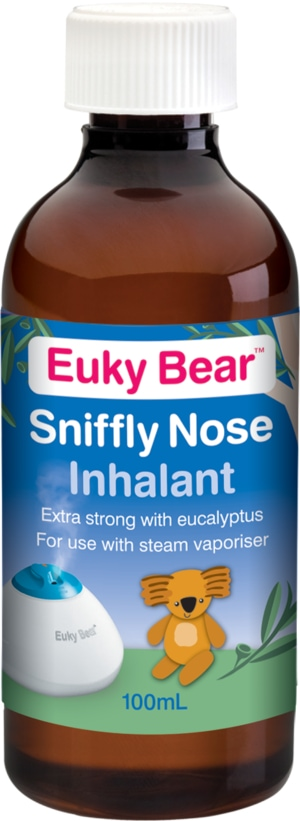 Euky Bear Sniffly Nose Inhalant for Colds