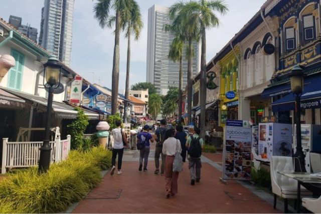 Guided Heritage tour of Kampong Gelam precinct MHC