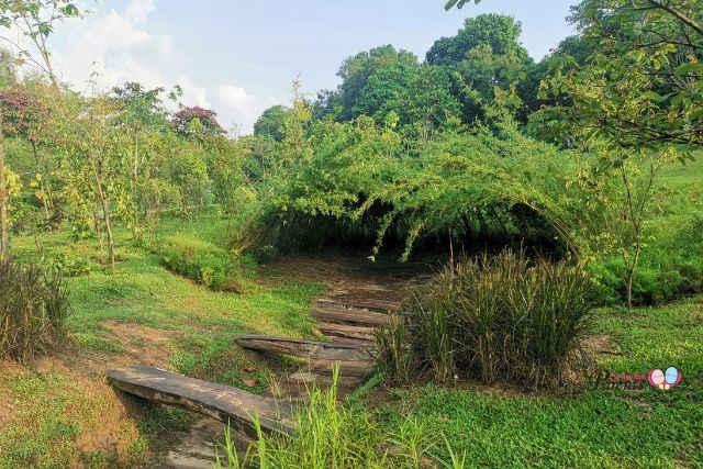 HortPark Nature Playgarden Secret Den