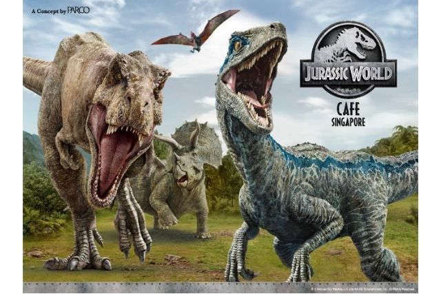 Jurassic World Cafe Comes to Town – First in Southeast Asia
