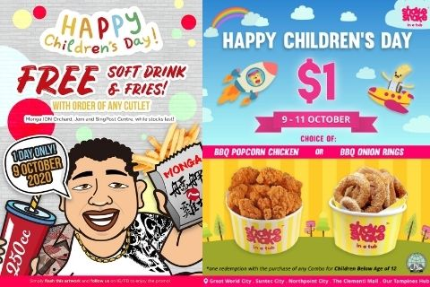 Money-Saving Childrens Day F and B Promotions