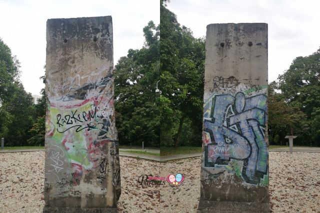 NUS Berlin Wall Fragments