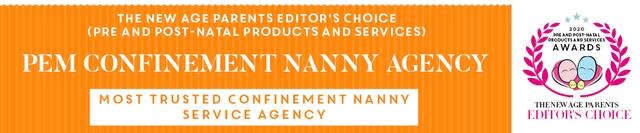 PEM Confinement Nanny Agency TNAP Editor's Awards
